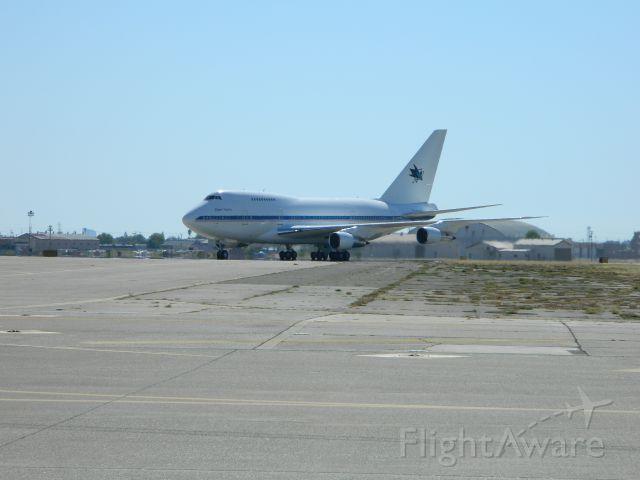BOEING 747SP (N747A) - Fry
