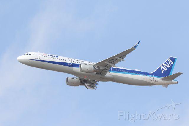 Airbus A321 (JA114A) - 20 April 2017:HKD-HND.