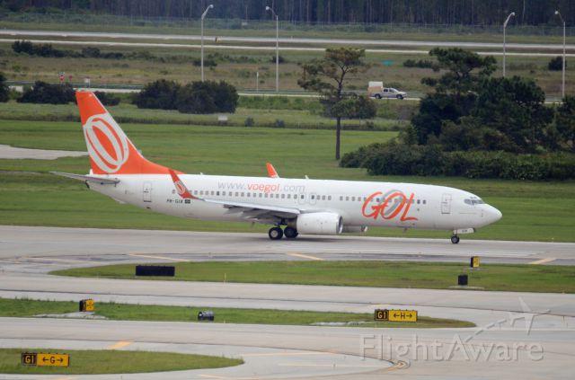 Boeing 737-700 (PR-GIX) - Imaged on 10/6/12