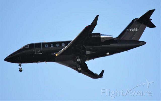 Canadair Challenger (C-FGRS)
