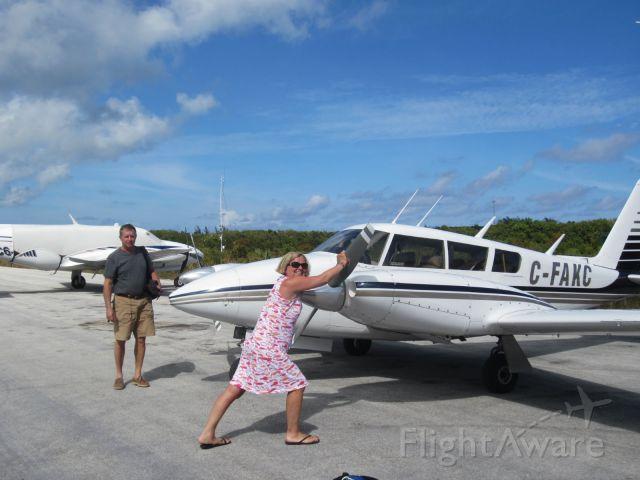 Piper PA-30 Twin Comanche (C-FAKC) - Long Island, Bahama photo