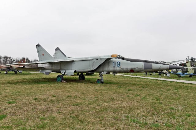 CCCP09 — - on display at Ukraine State Aviation Museum