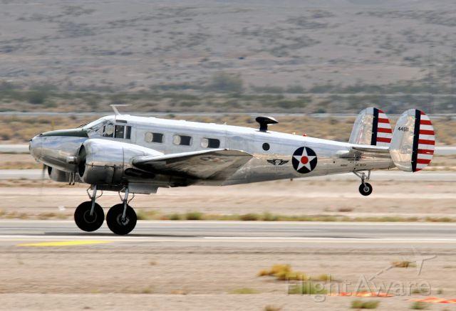 Beechcraft 18 (N145AZ)