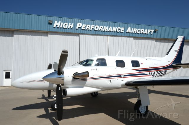 Piper Cheyenne (N479SW) - Another fine plane sold aand serviced by High Performance Aircraf, Inc.