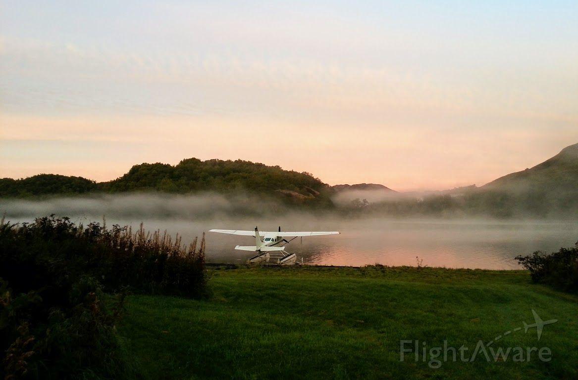 Cessna 206 Stationair — - Saltery Lake, Kodiak Island, AK at dawn