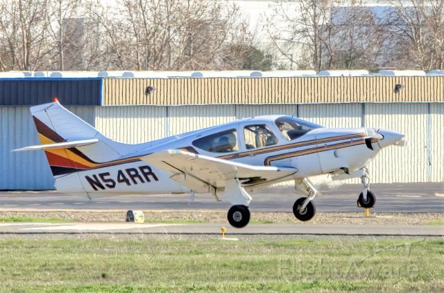 Rockwell Commander 114 (N54RR) - Rockwell International 112TC departs Livermore Municipal Airport (CA). March 2021