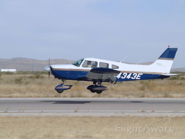 Piper Cherokee (N4343E) - My first solo landing at KLRU