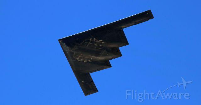 """Northrop Spirit (88-0331) - The """"Spirit of South Carolina"""" (880331) makes a low pass."""
