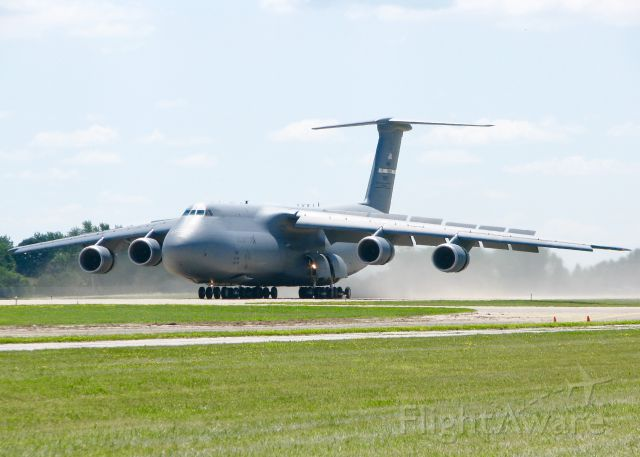 Lockheed C-5 Galaxy (87-0042) - AirVenture 2016. 2013 Lockheed C-5M Super Galaxy