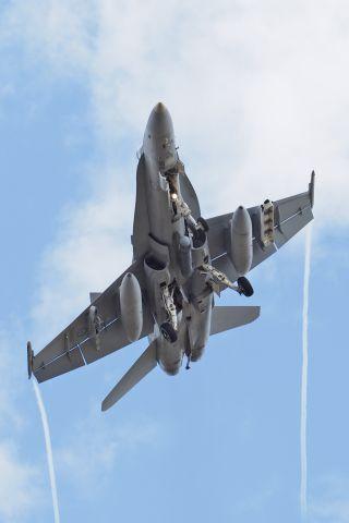 Boeing Hornet (A2157) - RAAF Base Pearce, Western Australia. Mc Donnell FA-18A RAAF A21-57, RAAF 75 sqn, 28th February 2020.