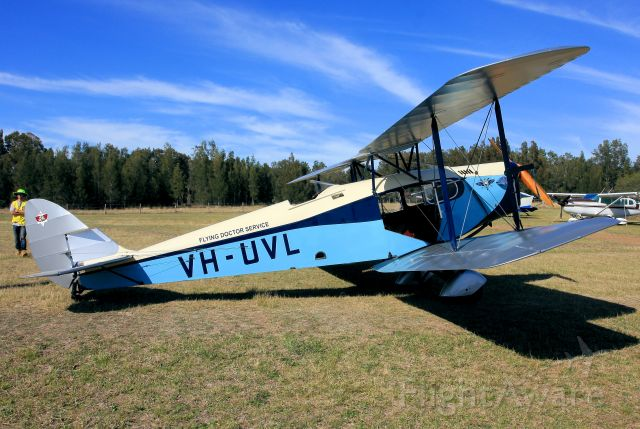 De Havilland Fox Moth (VH-UVL) -  Cessnock Air Show 20 9 2018