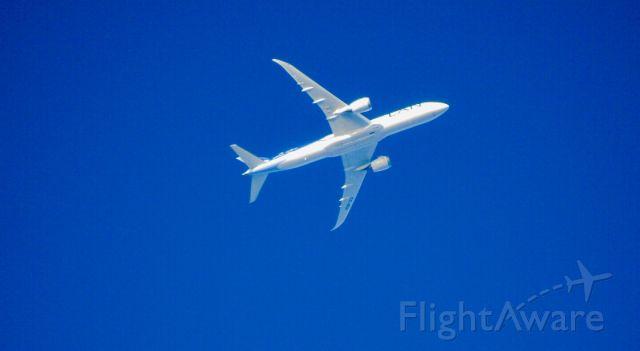 Boeing Dreamliner (Srs.8) (CC-BGI) - CC-BGI over MMTJ at 32000ft