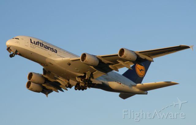 "Airbus A380-800 (D-AIME) - Named""Johannesburg!"""
