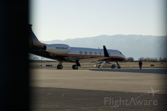 Gulfstream Aerospace Gulfstream V (N528AP) - One of the best paint jobs on a Gulfstream