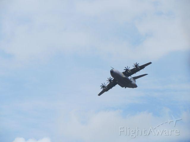 F-WWMS — - Airbus a400m at Farnborough airshow.