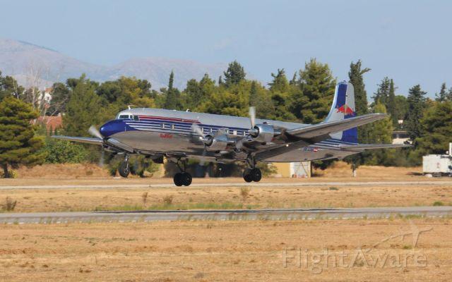 Douglas DC-6 (OE-LDM) - Red Bull DC6B at Athens Flying Week 2019