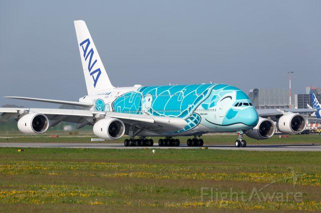 Airbus A380-800 (F-WWAF)