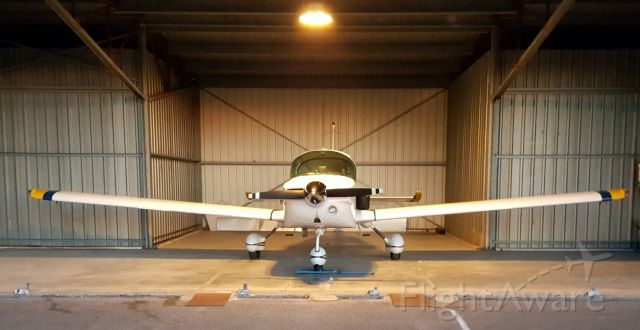 Grumman AA-5 Tiger — - Brought her home for the first time