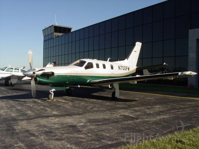 Socata TBM-700 (N700PW)