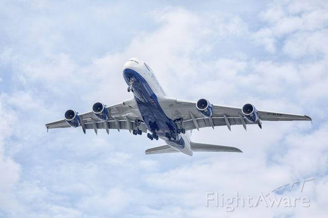 Airbus A380-800 (G-XLEB)