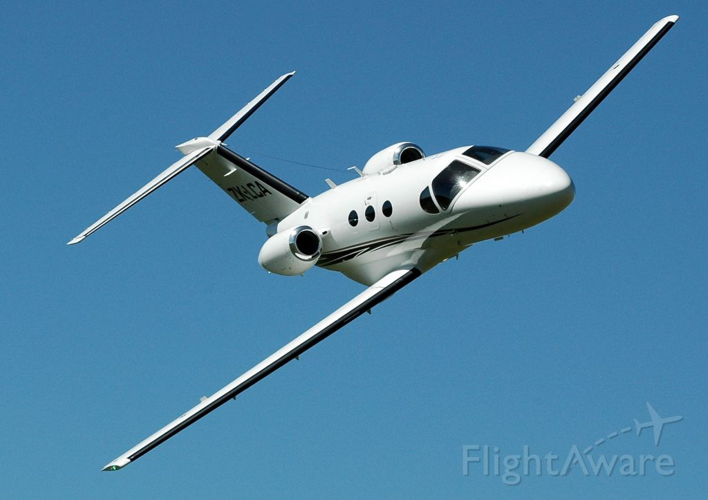 Cessna Citation Mustang (ZK-LCA) - On display at Hastings where this aircraft is based