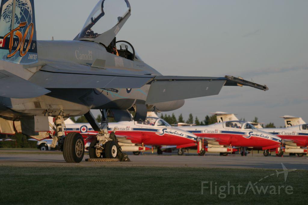 18-8703 — - Hornet at dusk