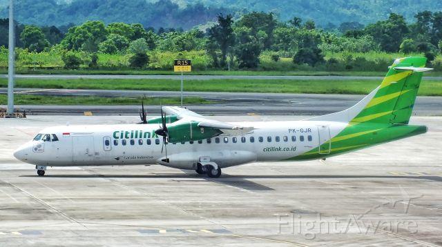 Aerospatiale ATR-72-600 (PK-GJR)