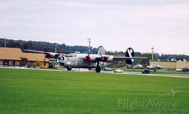 Consolidated B-24 Liberator — - Saw these aircraft as thy were preparing to leave Westminster, Md after a weekend airshow. Date was in the mid to late