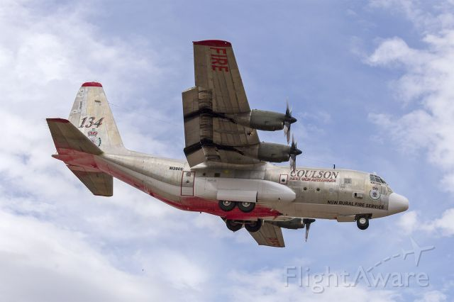 Lockheed C-130 Hercules (N130CG) - Coulson Aviation (N130CG) Lockheed EC-130Q Hercules on finals