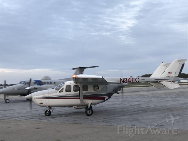 Cessna Super Skymaster (N34EC) - At KJXN