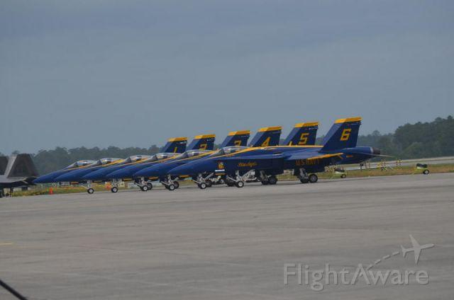 — — - Blue Angels at C.p. air base