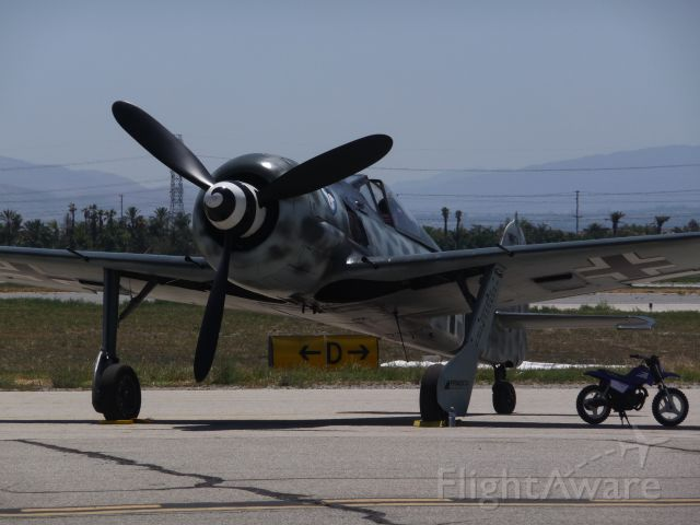 — — - FW-190 at Planes of Fame Air Show 2014