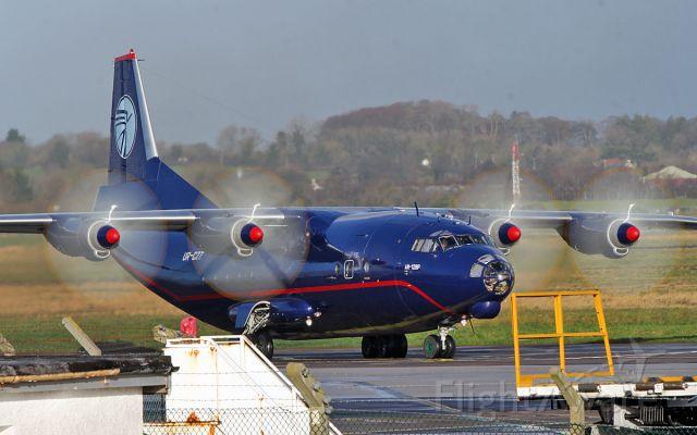 Antonov An-12 (UR-CZZ) - ukl an-12bp ur-czz engine start at shannon 9/12/18.