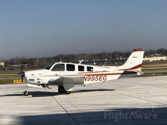 Beechcraft Bonanza (36) Turbo (N995EG) - Parked at Jackson (KJXN)