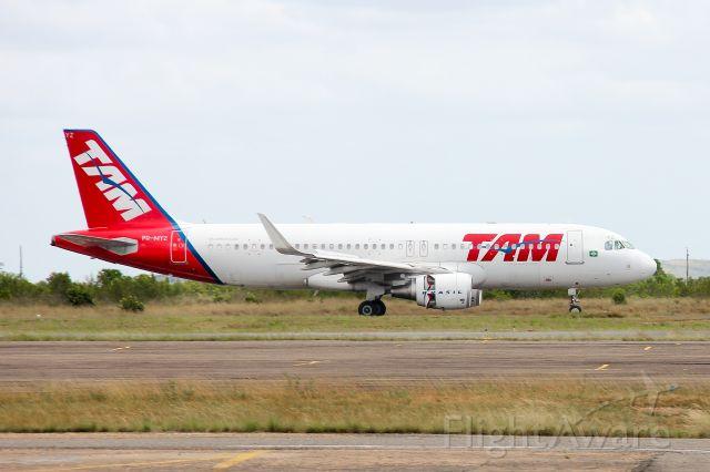 Airbus A320 (PR-MYZ) - AIRBUS INDUSTRIE - A320-214