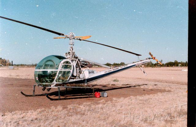 ROGERSON HILLER UH-12E Hauler (VH-FFE) - FFE at Hughenden