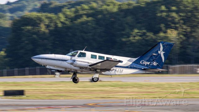 Cessna 402 (N2714M) - Early morning departure to BOS