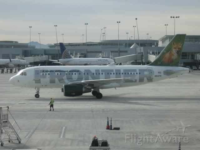 Airbus A319 (N912FR)