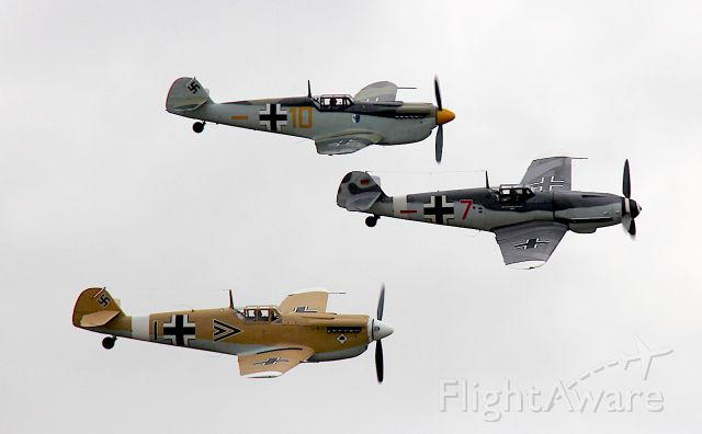 D-FWME — - Bf-109G-4 Red Seven<br />Bf-109 Bouchon<br />Photo: 11.07.2015