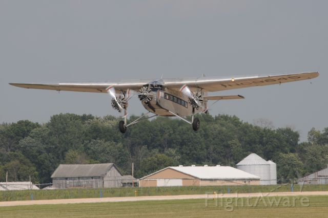 NC9645 — - Nice 1928 built Ford Trimotor, line # 8, Model 5-AT-B, giving rides at Goshen Indiana airport.