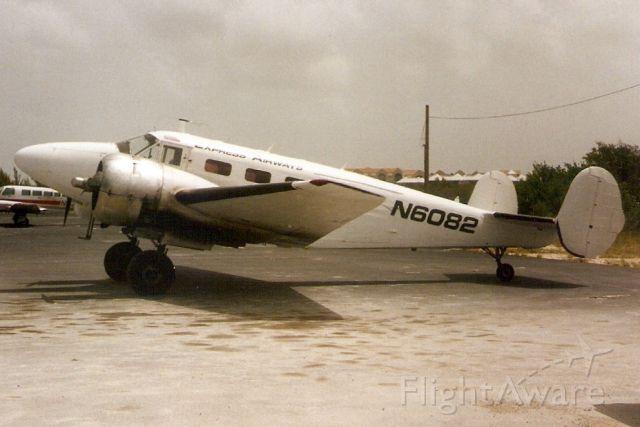 Beechcraft 18 (N6082) - Seen here in Jul-94.
