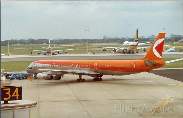 McDonnell Douglas DC-8-60 — - CP Air DC8-63 Archief 1982