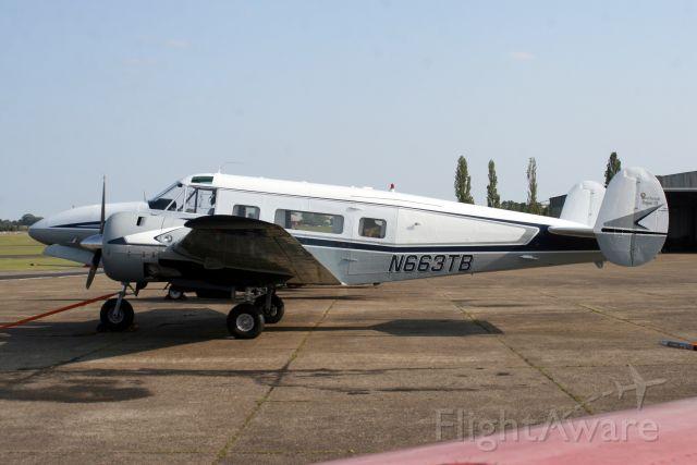 Beechcraft 18 (N663TB) - 18-Sep-09