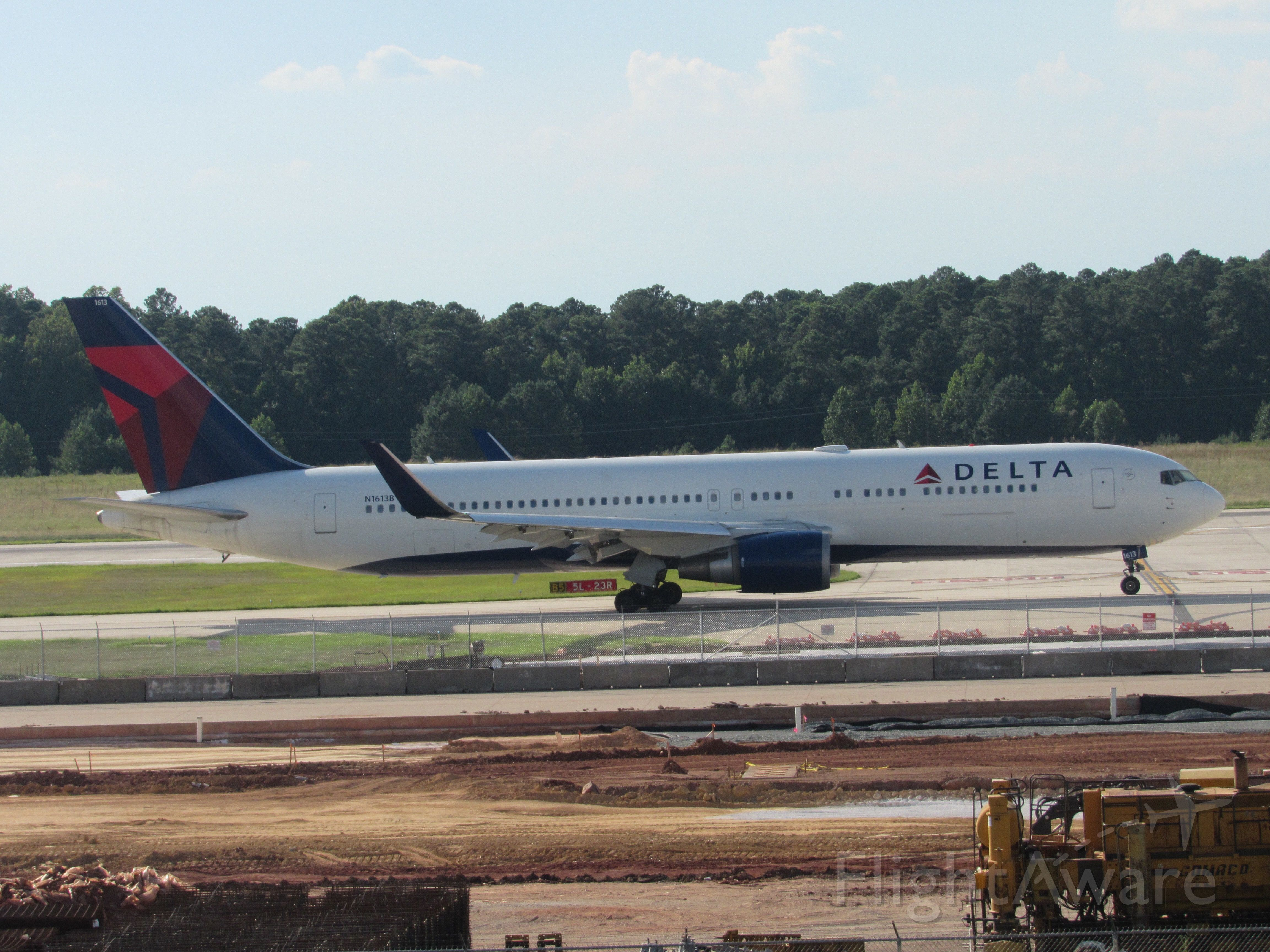 BOEING 767-300 (N1613B) - Delta 230 getting ready for its journey to Paris CDG! Taken July 21, 2019.