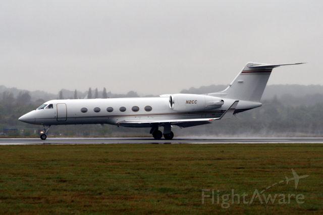 Gulfstream Aerospace Gulfstream IV (N2CC) - Departing for KSTP on 06-Oct-09.