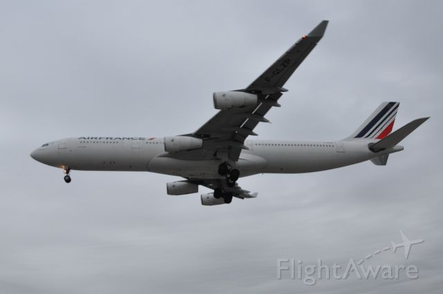 Airbus A340-300 — - One of the last Air France A340 flights to Toronto