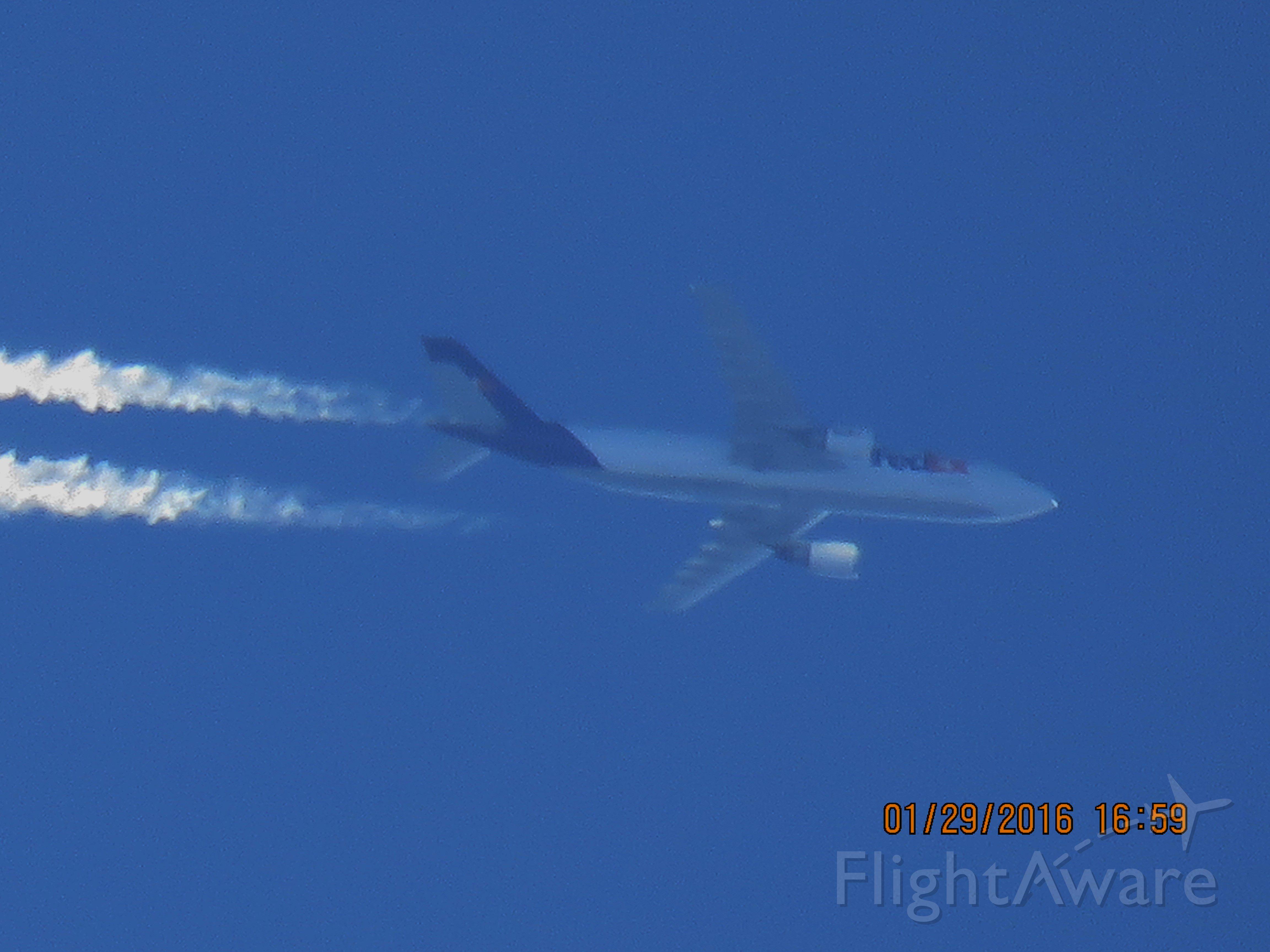 Airbus A300F4-600 (N662FE)