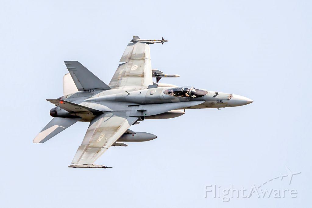 18-8786 — - 1987 McDonnell Douglas CF-188A Hornet, C/N 0585/A493