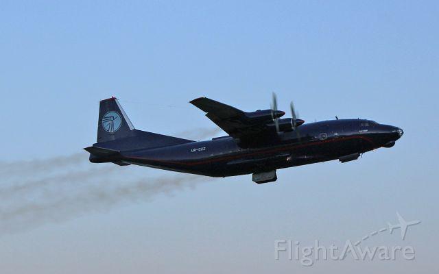 Antonov An-12 (UR-CZZ) - ukraine air alliance an-12bp ur-czz dep shannon 17/5/17.