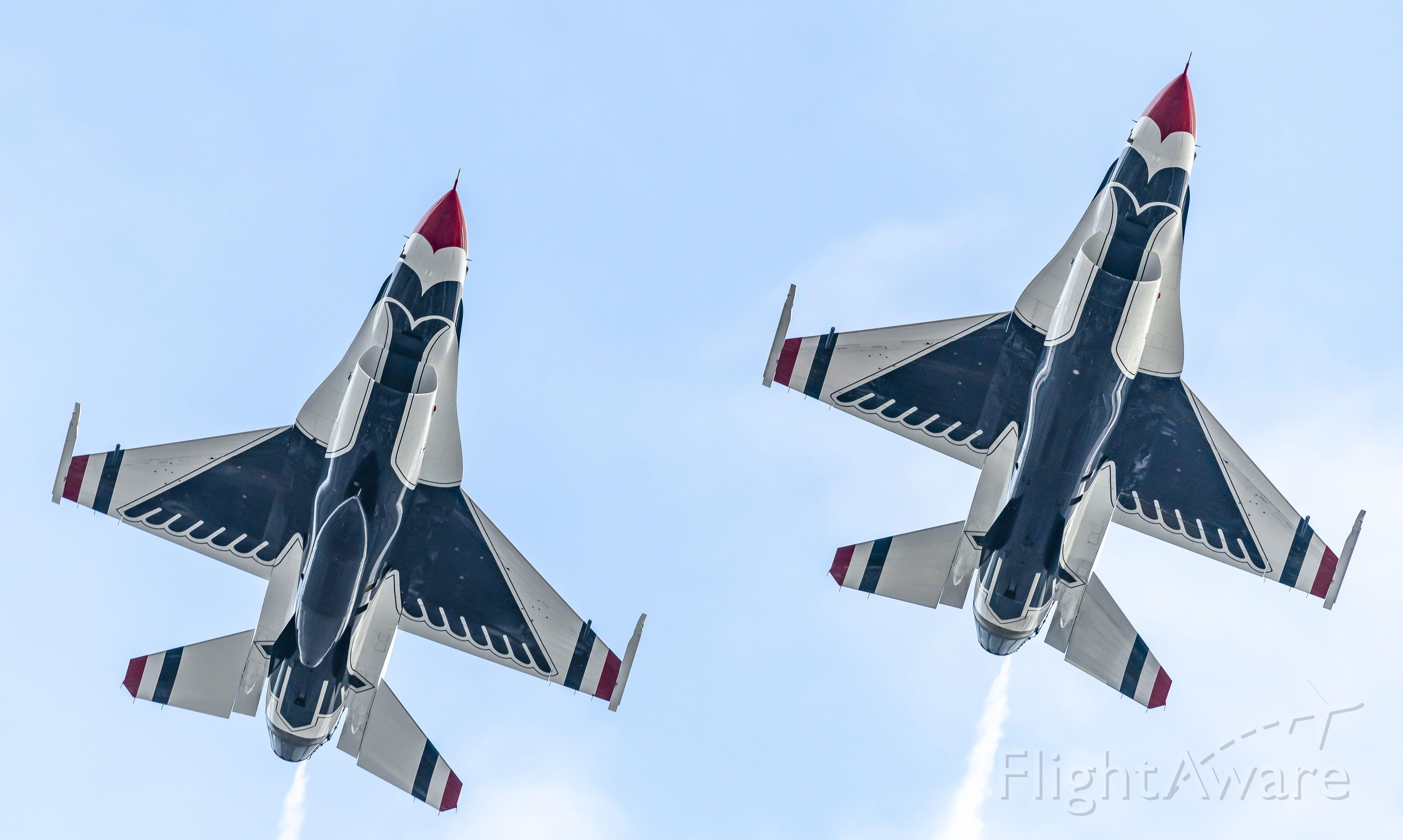 Lockheed F-16 Fighting Falcon — - At 2020 Daytona 500